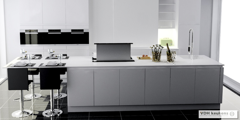 3D-weergave VDH Keukens